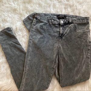 J Brand 4gray Velvet Super Skinny Static Con Jeans